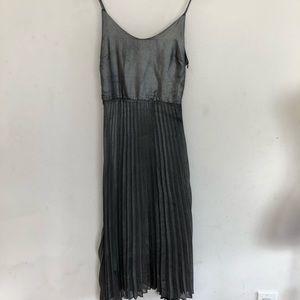 Love fire gunmetal color dress size S